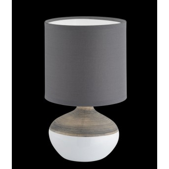 Honsel Norwich Table lamp brown, white, 1-light source