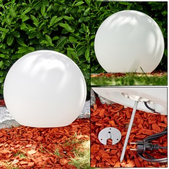 Globe light Arslev white, 1-light source