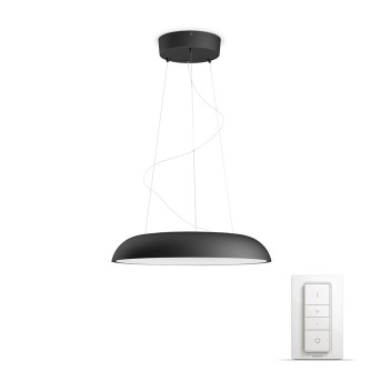 Philips HUE AMBIANCE WHITE AMAZE Pendant Light LED black, 1-light source, Remote control