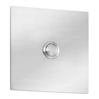 CMD doorbell name plate stainless steel