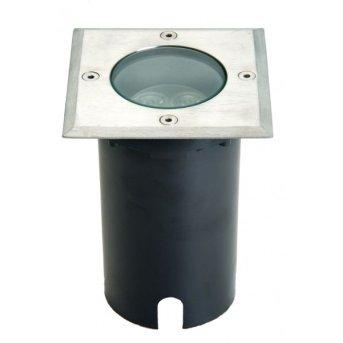 Lutec BERLIN recessed ground light LED, 3-light sources