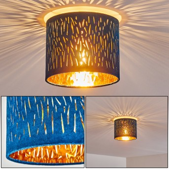 LIARED Ceiling Light matt nickel, 1-light source