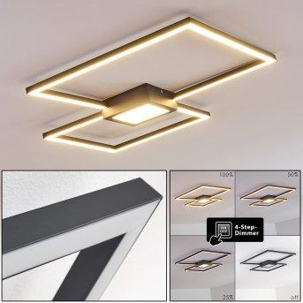 Narpes Ceiling Light LED anthracite, 1-light source