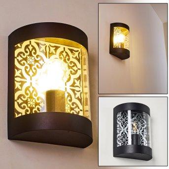 Outdoor Wall Light Clapham black, 1-light source