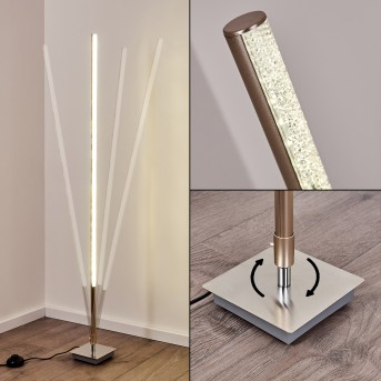Lovrup Floor Lamp LED stainless steel, 1-light source