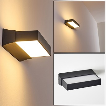 Outdoor Wall Light Hjortspring LED anthracite, 1-light source