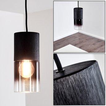 KUPARUK Pendant Light black, 1-light source