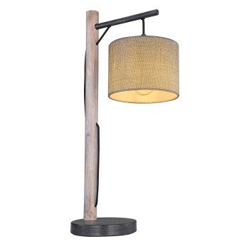 Globo ROGER Table lamp black, grey, 1-light source
