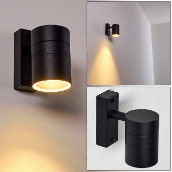 FROSLEV Outdoor Wall Light LED black, 1-light source