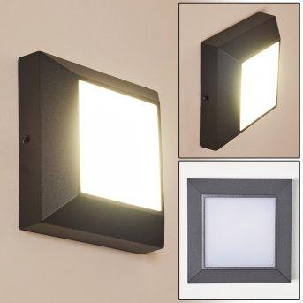 ALKMAAR Outdoor Wall Light LED anthracite, 1-light source