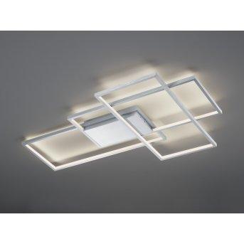 Trio THIAGO Ceiling Light LED matt nickel, 1-light source, Remote control, Colour changer