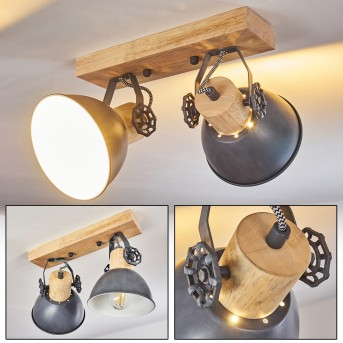 Orny Ceiling Light grey, 2-light sources