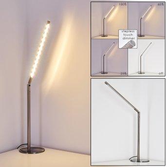 DEJE Table Lamp LED matt nickel, 1-light source