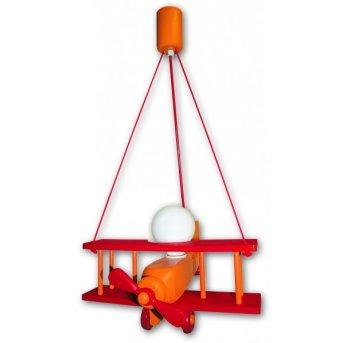 Waldi Flugzeug pendant light orange, 1-light source