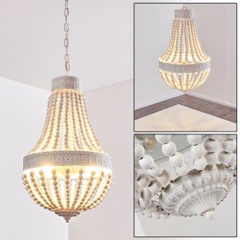 ARARAT chandelier white, 3-light sources