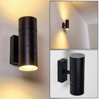Outdoor Wall Light Froslev LED black, 2-light sources
