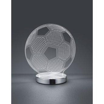 Reality Ball Table Lamp LED chrome, 1-light source