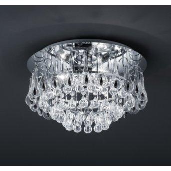 Trio 3004 ceiling light chrome, 3-light sources