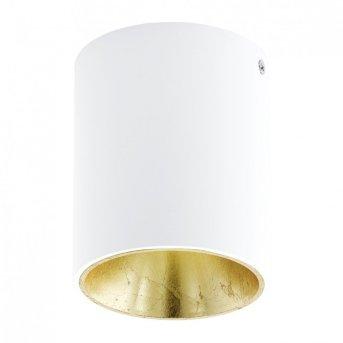 Eglo POLASSO ceiling light LED white, gold, 1-light source