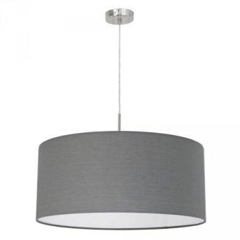 Eglo PASTERI hanging light matt nickel, 1-light source