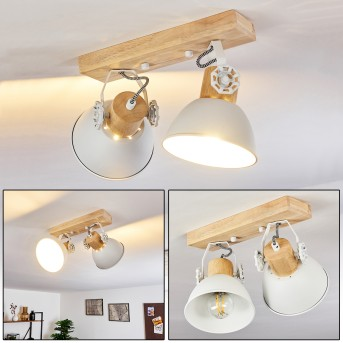 Orny Ceiling Light white, 2-light sources