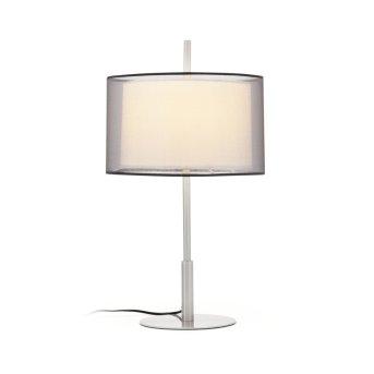 Faro Saba table lamp matt nickel, 1-light source
