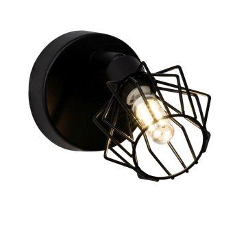 Brilliant NORIS wall spotlight LED black, 1-light source