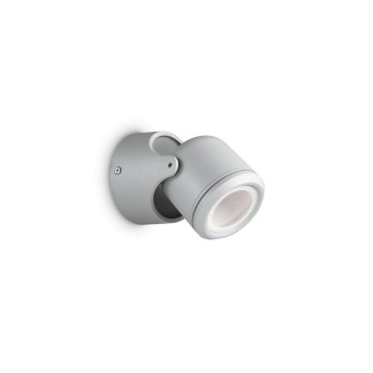Ideal Lux XENO Outdoor Wall Light grey, 1-light source