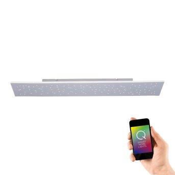 Ceiling Light Paul Neuhaus Q-NIGHTSKY LED aluminium, 1-light source, Remote control