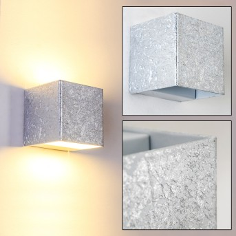 Olbia wall light LED silver, 1-light source