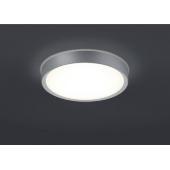Trio CLARIMO ceiling light LED titanium , 1-light source