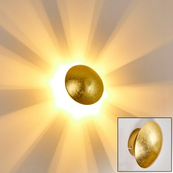 MEZIA wall light gold, 1-light source