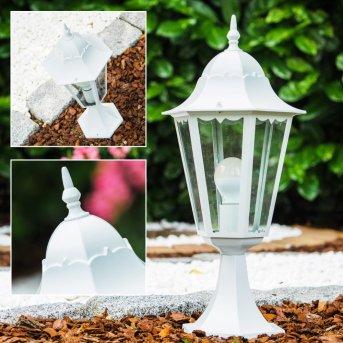 pedestal light white, 1-light source