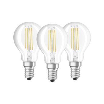 Osram LED E14 4 Watt 4000 Kelvin 470 Lumen Set of 3