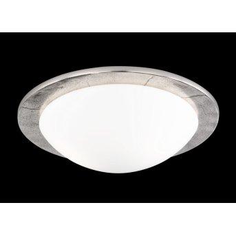 Fischer SHINE ceiling light polished nickel, 2-light sources