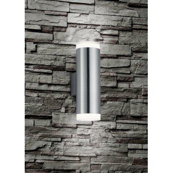 Reality ARACATI Wall Light LED matt nickel, 2-light sources