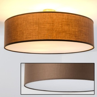 Foggia ceiling light brown, 3-light sources