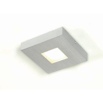 Bopp Cubus ceiling light LED aluminium, 1-light source