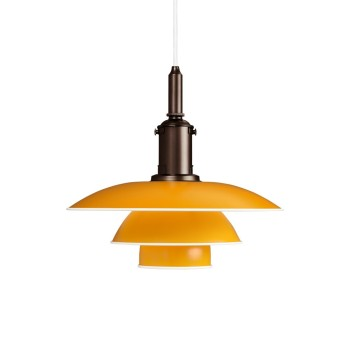 Louis Poulsen Pendant Light yellow, 1-light source