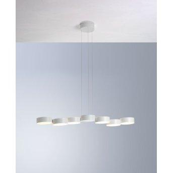 Bopp TOUCH Pendant Light LED white, 6-light sources