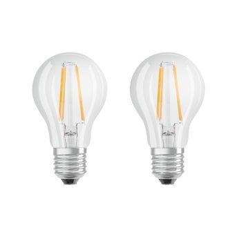 Osram LED E27 6 Watt 2700 Kelvin 806 Lumen Set of 2