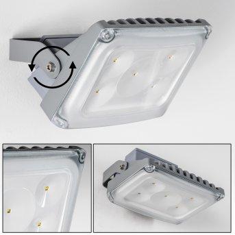 TANA Outdoor Spotlight LED silver, 1-light source