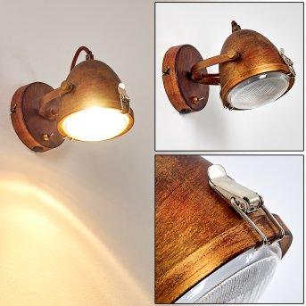 Butikon Wall Light rust-coloured, 1-light source