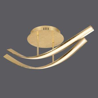 LINDA Ceiling Light LED gold, 2-light sources