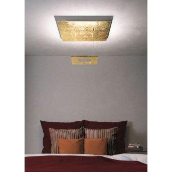Escale ZEN D2W Ceiling Light LED gold, 4-light sources