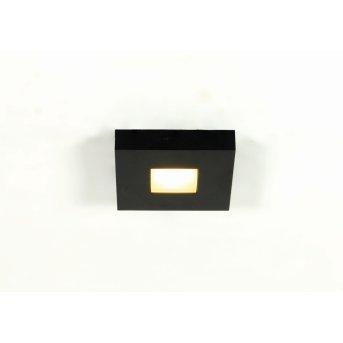 Bopp Cubus ceiling light LED black, 1-light source
