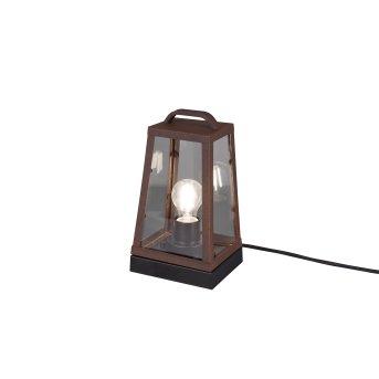 Trio ARKANSAS Table lamp rust-coloured, 1-light source