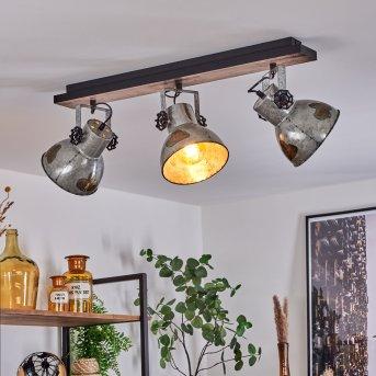 Hora Ceiling Light silver, 3-light sources