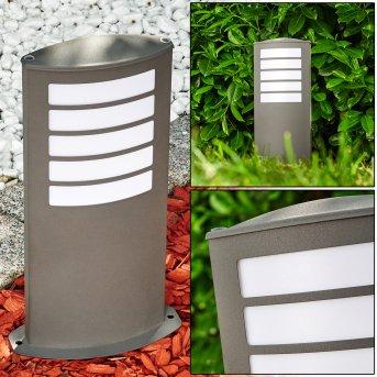 ALSLEV outdoor light anthracite, 1-light source