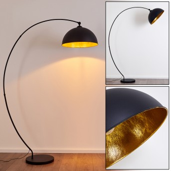 Floor Lamp Miranda black, 1-light source
